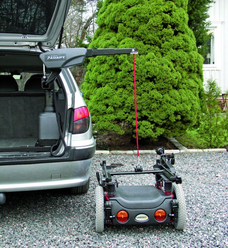 carolift 6900 pour le chargement de fauteuils au poids cons 233 quent handi mobil