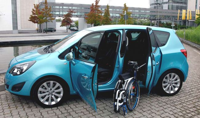 Robot chargeur portières antagonistes opel Meriva